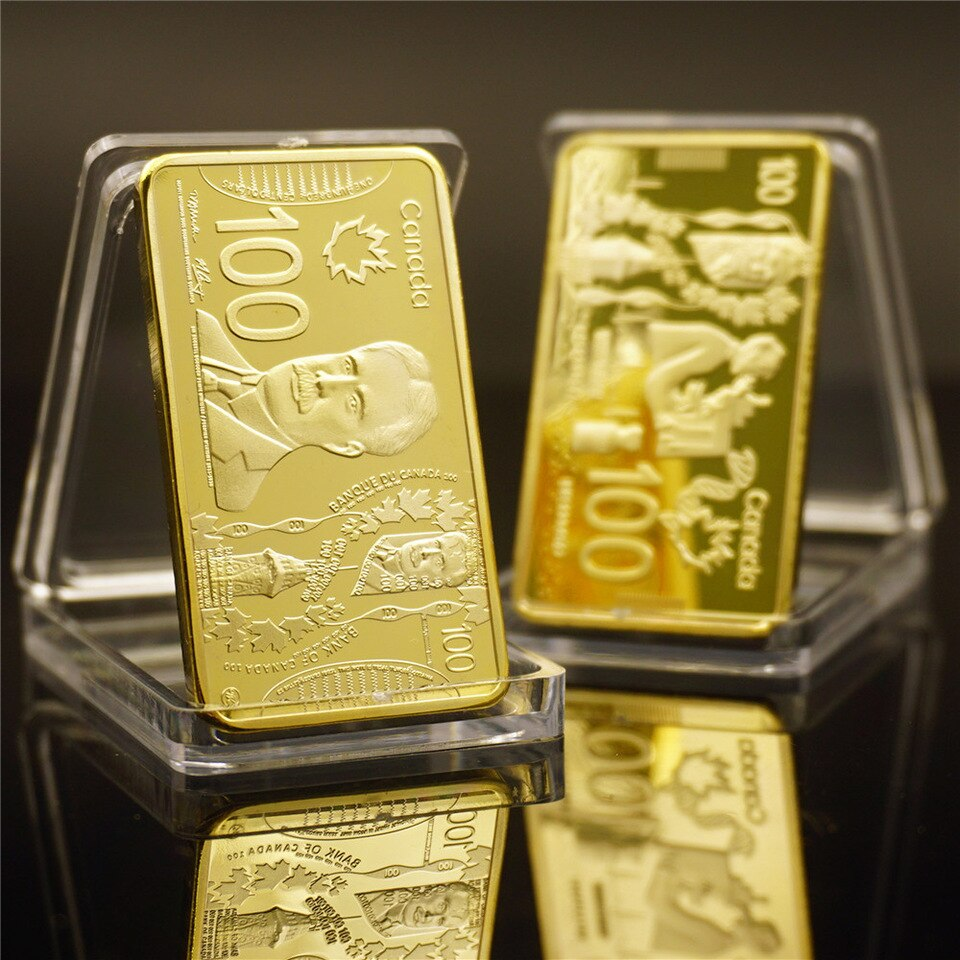 This image has an empty alt attribute; its file name is Canada-Gold-Bar-Collectible-999-9-Gold-Plated-Canada-100-Pure-Gold-Banknote-Metal-Bars-Metal.jpg_960x960.jpg