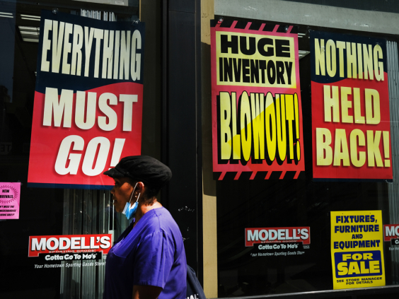 U.S. economy shrinks at record 32% pace in second quarter